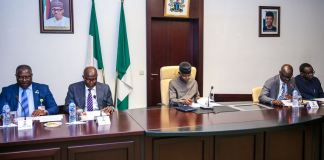 Vice President Yemi Osinbajo presides over first quater MSME Stakeholder Meeting