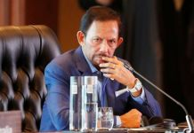 The speech is the first time Brunei's ruler has responded to global pressure over the new laws