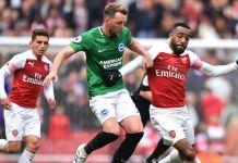Brighton held Arsenal to a draw at the Emirates stadium