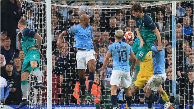 Manchester City lost to Tottenham in the Champions League quarter-finals this season and have never got past the semi-finals