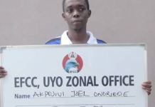 Akpojivi Onoriode popularly known as Mr White or Blinks has been arrested for internet fraud