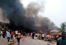 Fire has ravaged Makurdi market destroying properties worth millions of naira