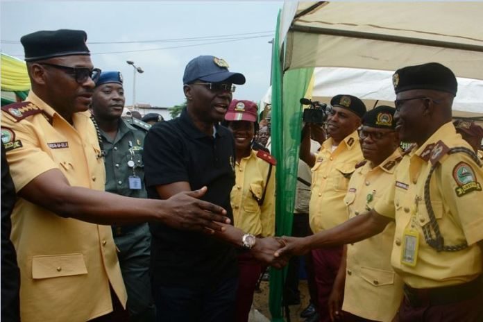 Governor Babajide Sanwo-Olu has increased by 100% allowances of LASTMA officers