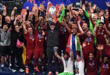 Jurgen Klopp finally got his hands on the Champions League trophy