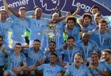Manchester City won the Premier League for the second term in a row