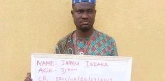 Nigerian herbalist Jamiu Isiaka arraigned for swindling a Korean national