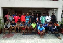 The illegal oil bunkerers quizzed by the EFCC
