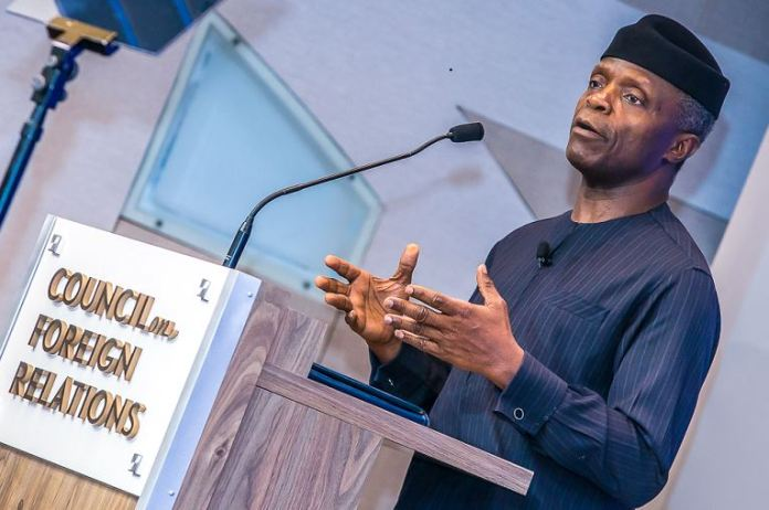 Nigeria's High Commissioner to UK, Mr George Oguntade says Vice President Yemi Osinbajo meets regularly with Muslim and Christian leaders in Nigeria