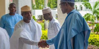 Vice President Yemi Osinbajo and President Muhammadu Buhari