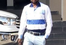 Eze Shedrach, a First Bank, Point of Sales (PoS) agent (First Moni)