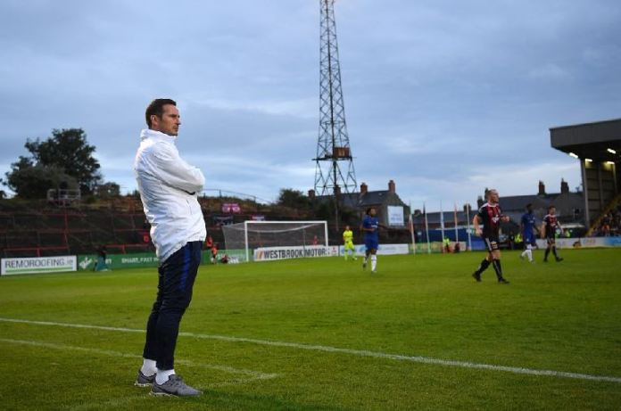 Frank Lampard's first game in charge of Chelsea ended in a draw against Bohemians