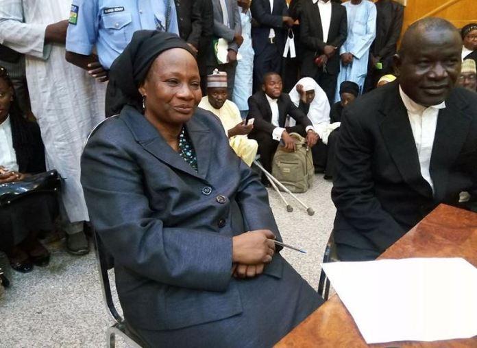 Justice Elizabeth Karatu, acting Chief Judge of Kebbi state