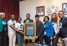 Vice President Yemi Osinbajo receives in audience memebrs of ONE campaign at the State House, Abuja