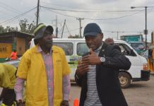 Engr Olufemi Daramola (R), General Manager, Lagos State Public Works Corporation