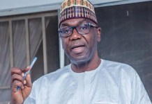 Governor AbdulRahman AbdulRazaq of Kwara has donated his 10-month salary to poor people of the state