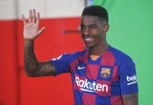 Junior Firpo joined Barcelona from Real Betis