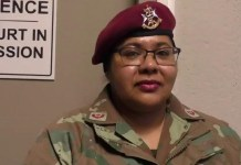 Major Fatima Isaacs has accused the South African army of Islamophobia after she was ordered to take off her headscarf