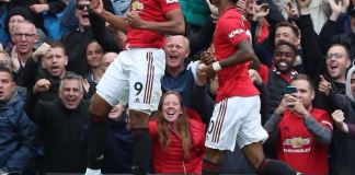 Marcus Rashford scored twice as Manchester United thrashed Chelsea 4-0 on Frank Lampard's Premier League debut