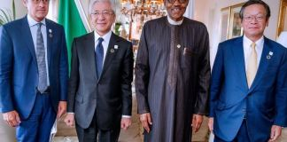 President Muhammadu Buhari secured investments with Japan Bank for International Cooperation and Toyota Group