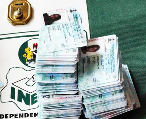 Permanent Voters Card (PVC) are used to vote in Nigeria