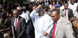Rousing welcome for Senate President in Yobe