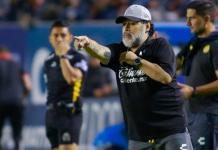 Diego Maradona left Mexican second division side, Dorados in June