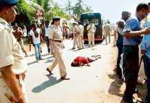 Nigerians run riot in india