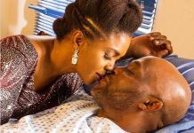 Omoni Oboli and Richard Mofe-Damijo starred in Love is War