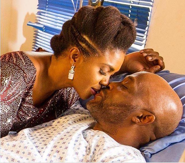 Omoni Oboli and Richard Mofe-Damijo starred in Love is War