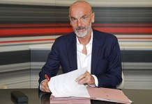 Stefano Pioli has a two year deal at AC Milan despite protest by fans