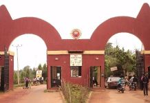 The facade of Auchi Polytechnic