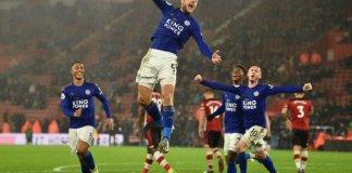 Leicester equal biggest premier league win