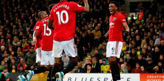Rashford and Martial on target as Man United ease past Norwich