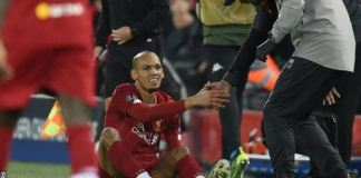 Fabinho has been critical to Liverpool's success this season