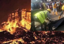 Lagos Gas explosion leaves 2 children dead and 23 others injured