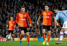Ilkay Gundogan also scored in Manchester City's 3-0 away victory over Shakhtar Donetsk in September