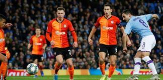 Ilkay Gundogan also scored in Manchester City's 3-0 away victory over Shakhtar Donetsk in September