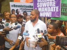 Protesters at DSS headquarters breached national security
