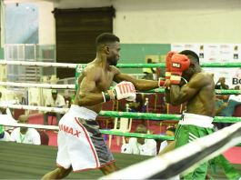 Rilwan Baby Face Babatunde and Bobby Girl shone at the maiden GOtv Boxing Night Mini