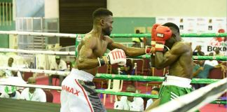 Rilwan Baby Face Babatunde and Bobby Girl shone at the maiden GOtv Boxing Night Mini