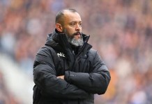 Wolves manager Nuno Espirito Santo is favourite to replace Unai Emery at Arsenal