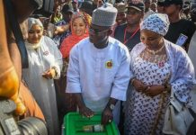 Yahaya Bello has taken an early lead in the Kogi governorship election