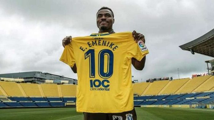 Emenike played 5 times for Westerlo without scoring a goal