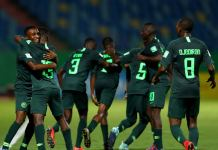 Eaglets were hoping to keep their 100% record against Australia