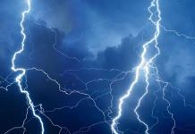 Lightening strike kills 20 in Congo