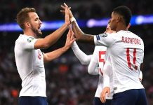 England thrash Montenegro