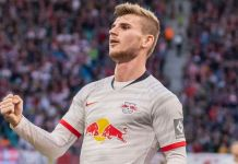 German striker Timo Werner