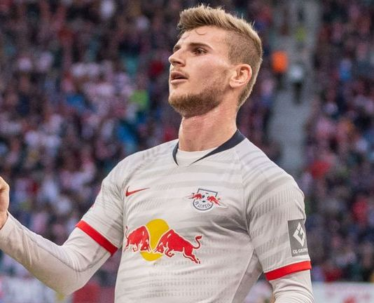 German striker Timo Werner appears to favour Liverpool over Chelsea