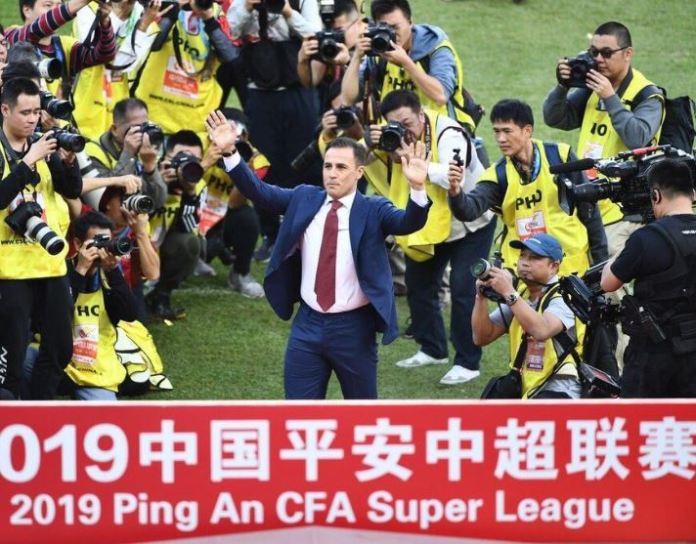 Fabio Cannavaro has led Guangzhou Evergrande to the Chinese Super League