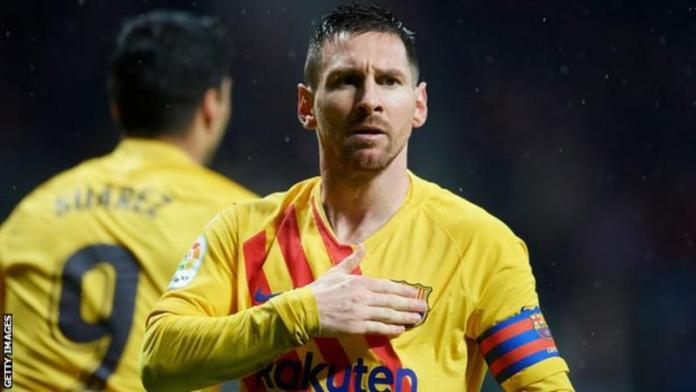 Lionel Messi has scored 30 goals against Atletico Madrid in all competitions during his career, second only to the 37 he has registered against Sevilla